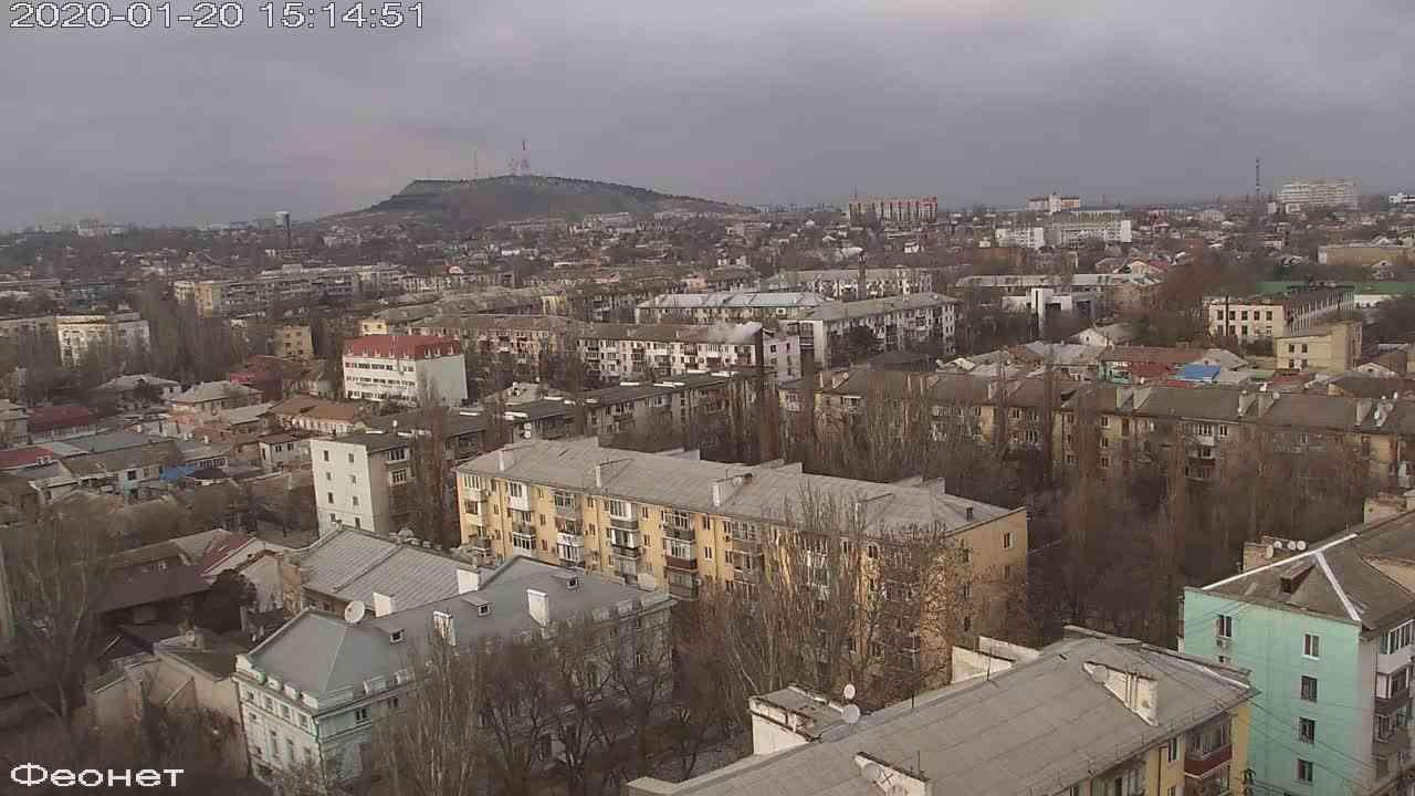 Веб-камеры Феодосии, Обзорная, 2020-01-20 15:15:15