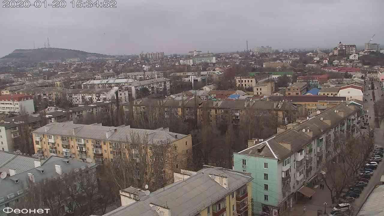 Веб-камеры Феодосии, Обзорная, 2020-01-20 15:35:15
