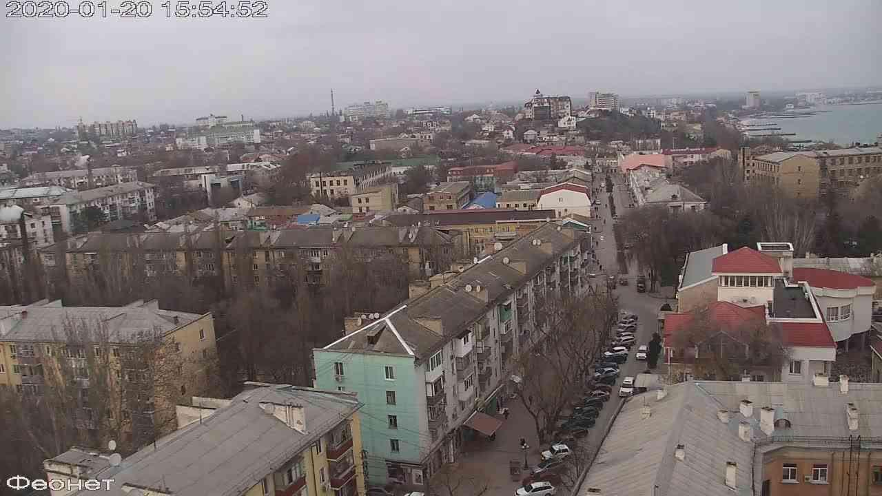 Веб-камеры Феодосии, Обзорная, 2020-01-20 15:55:13