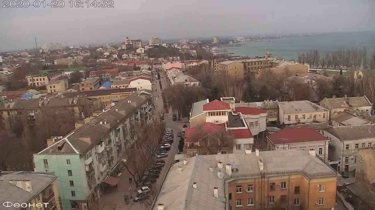 Веб-камеры Феодосии, Обзорная, 2020-01-20 16:15:15