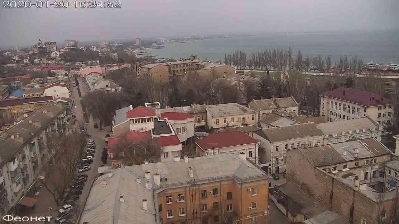 Веб-камеры Феодосии, Обзорная, 2020-01-20 16:35:15