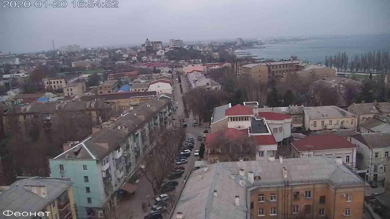 Веб-камеры Феодосии, Обзорная, 2020-01-20 16:55:15