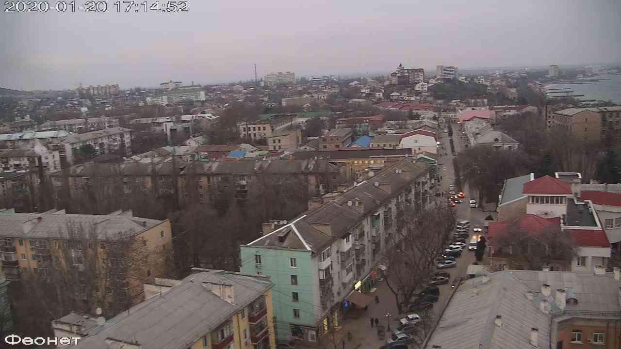 Веб-камеры Феодосии, Обзорная, 2020-01-20 17:15:16