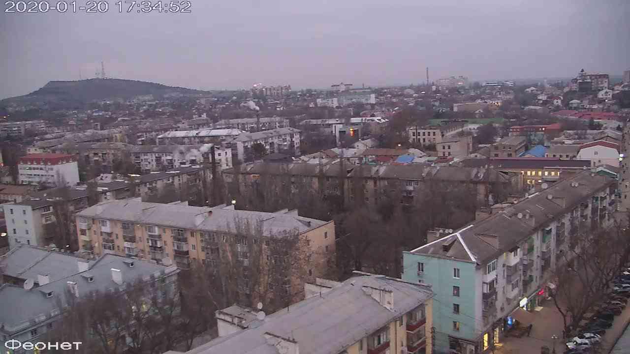 Веб-камеры Феодосии, Обзорная, 2020-01-20 17:35:15
