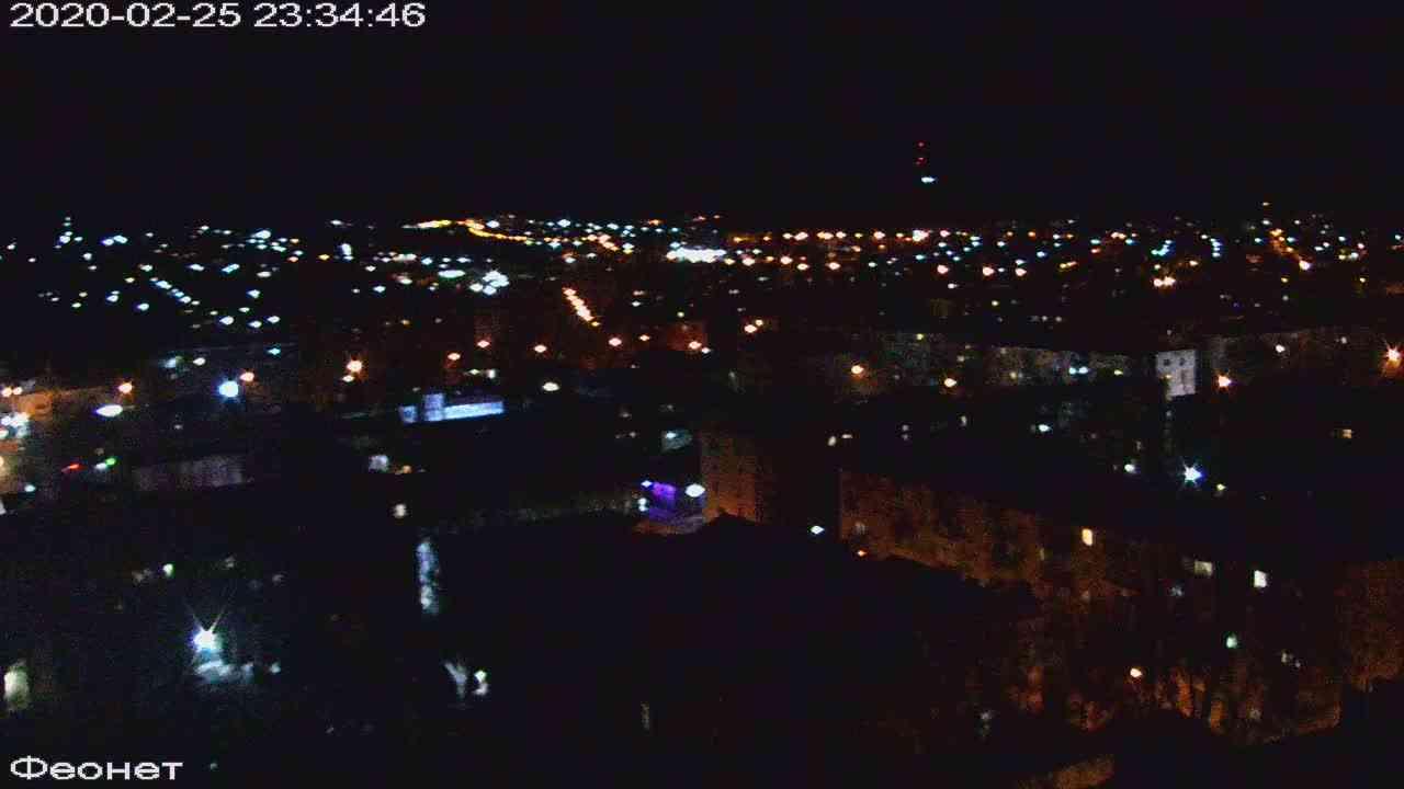 Веб-камеры Феодосии, Обзорная, 2020-02-25 23:35:22