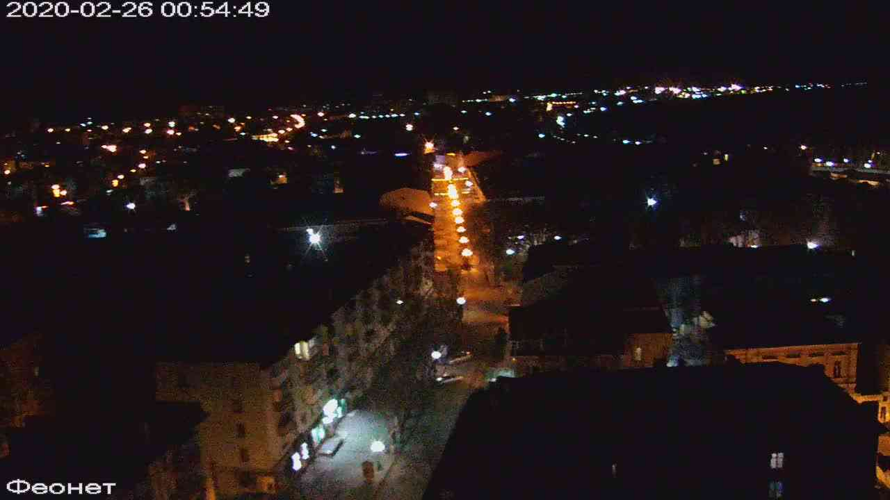 Веб-камеры Феодосии, Обзорная, 2020-02-26 00:55:21