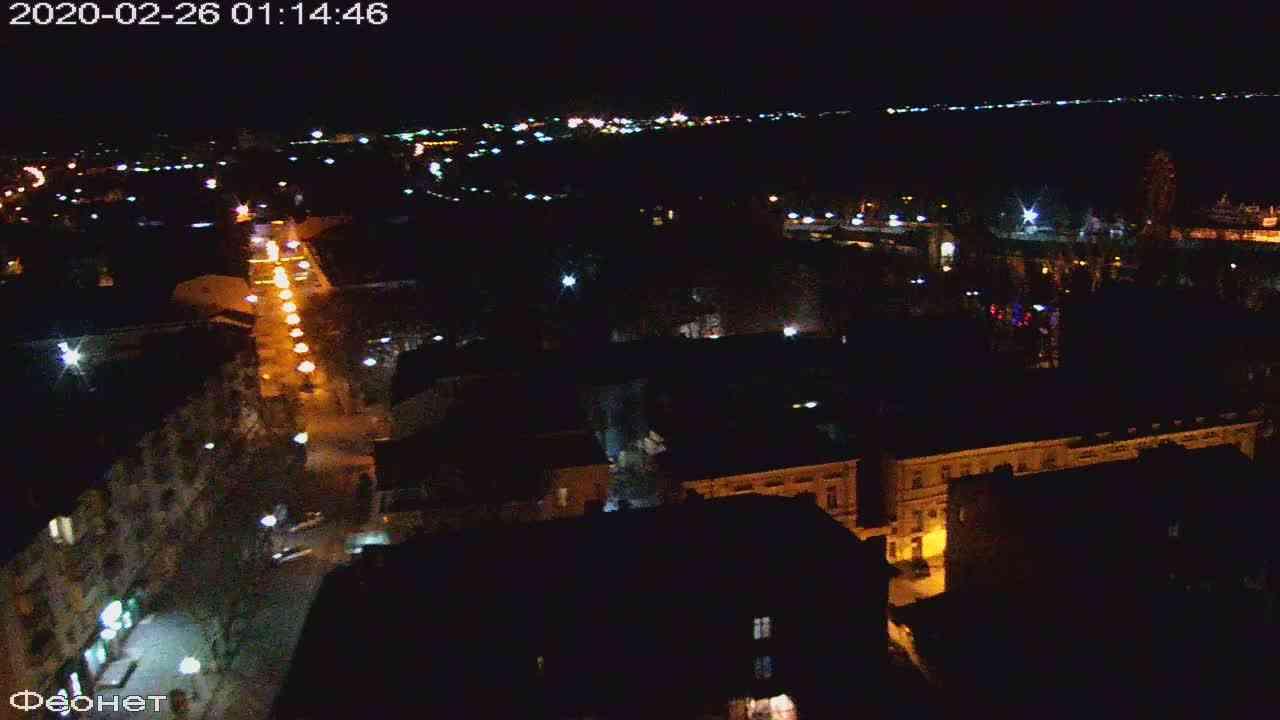 Веб-камеры Феодосии, Обзорная, 2020-02-26 01:15:21