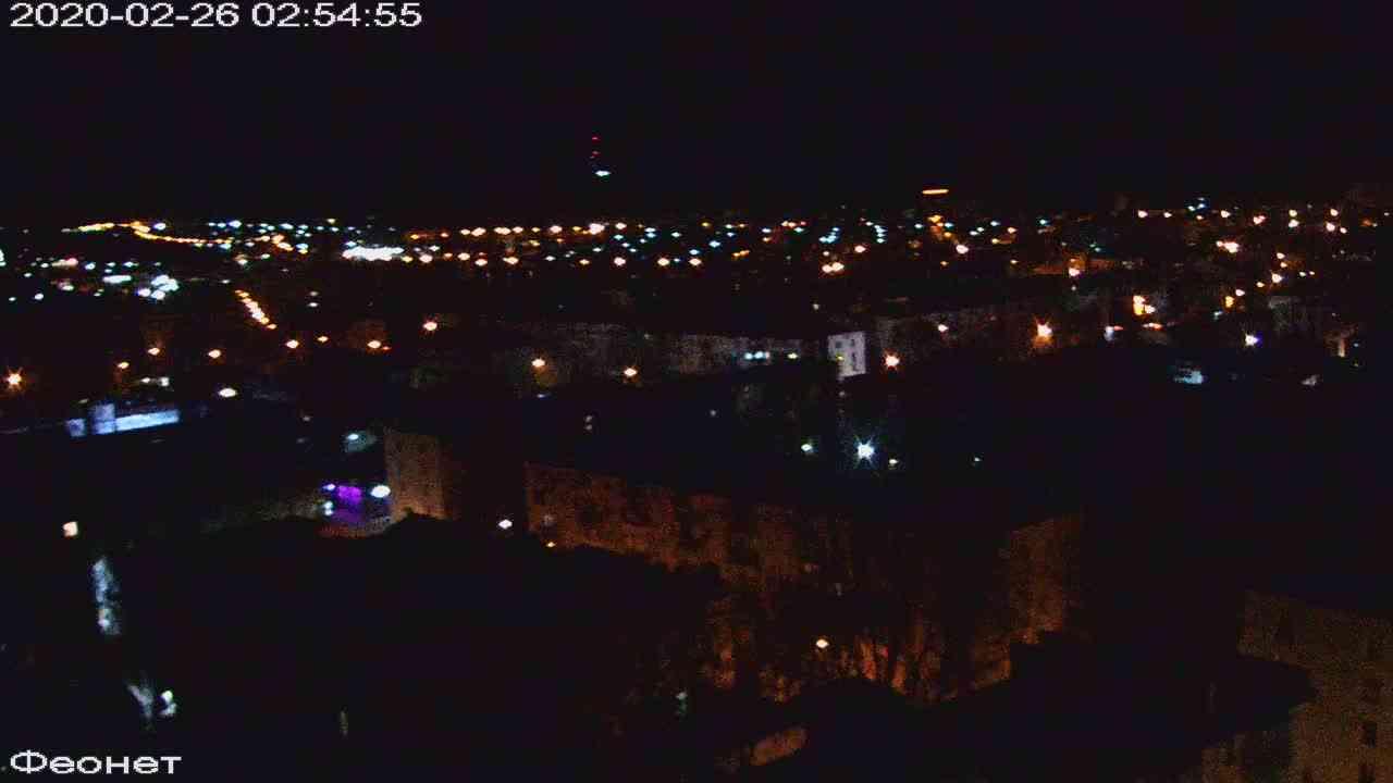 Веб-камеры Феодосии, Обзорная, 2020-02-26 02:55:22