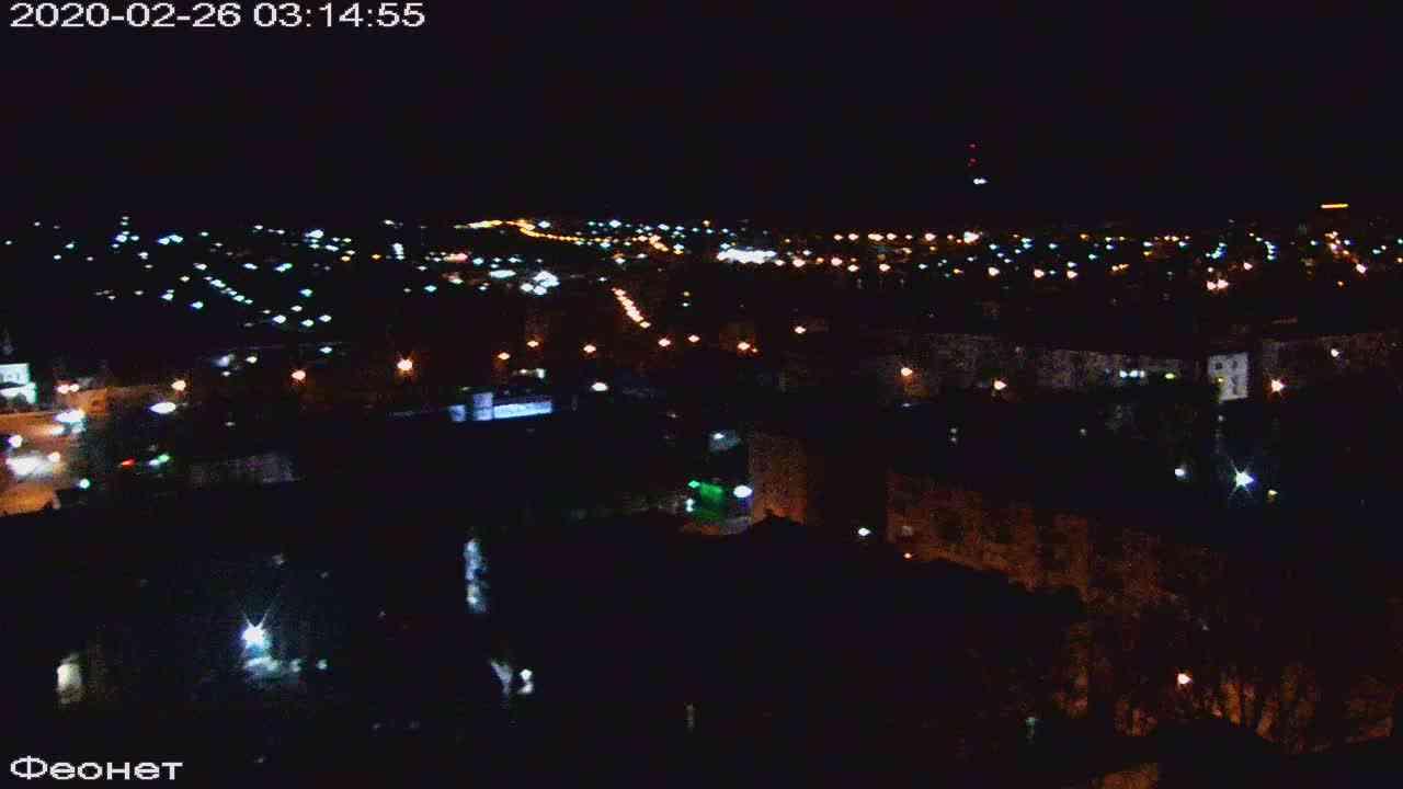 Веб-камеры Феодосии, Обзорная, 2020-02-26 03:15:22