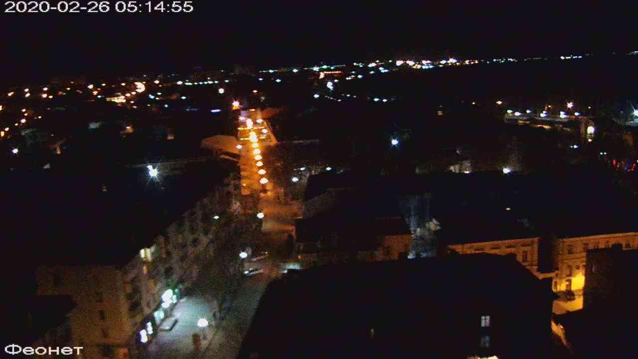 Веб-камеры Феодосии, Обзорная, 2020-02-26 05:15:24