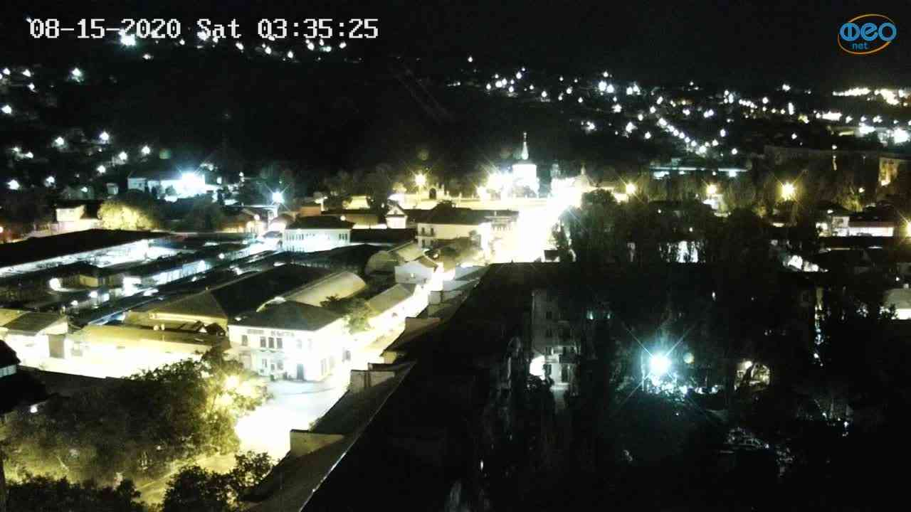 Веб-камеры Феодосии, Обзорная, 2020-08-15 03:35:34