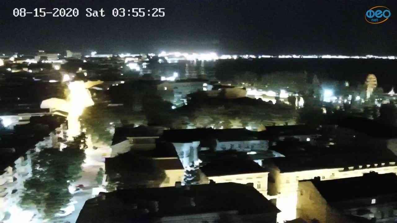 Веб-камеры Феодосии, Обзорная, 2020-08-15 03:55:37