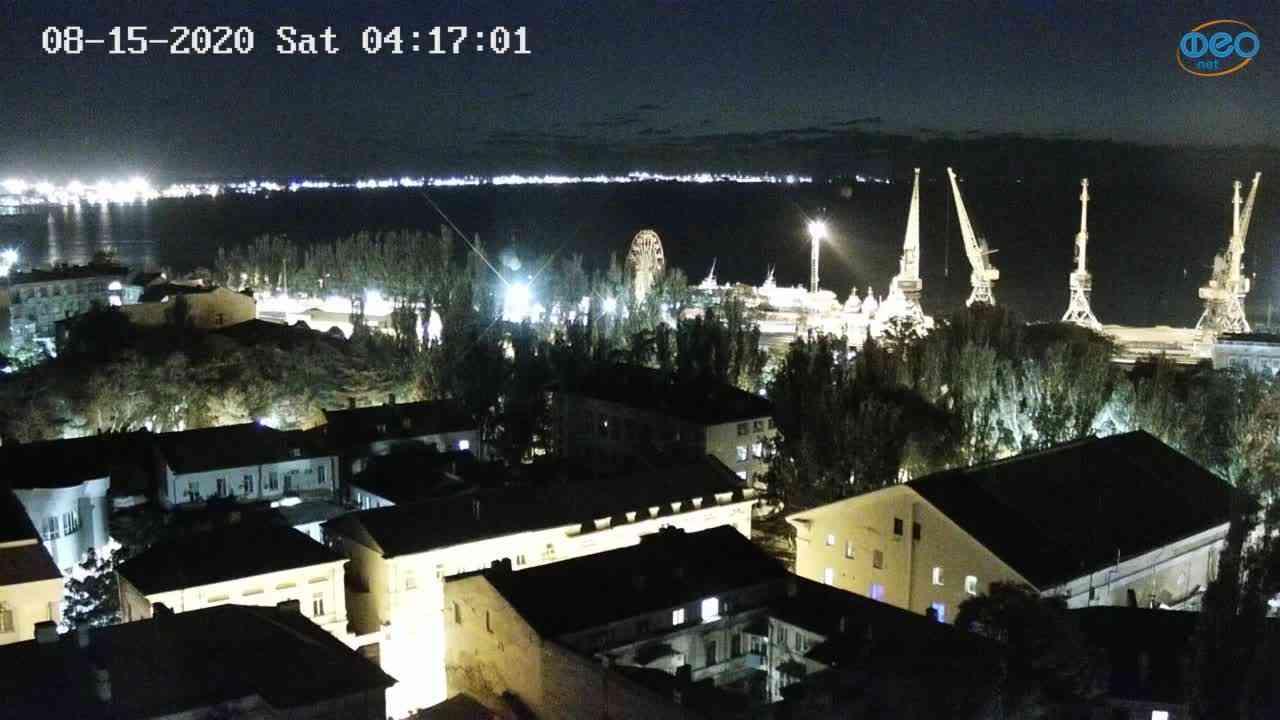 Веб-камеры Феодосии, Обзорная, 2020-08-15 04:17:11