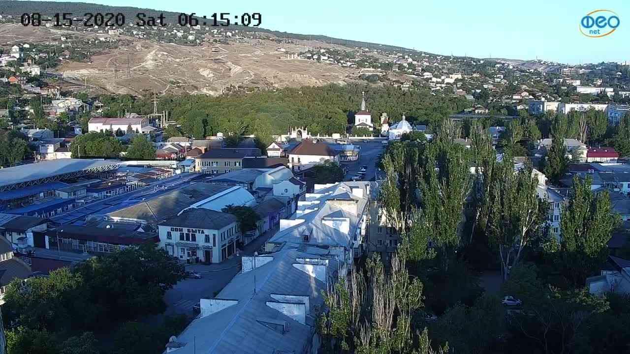 Веб-камеры Феодосии, Обзорная, 2020-08-15 06:15:19