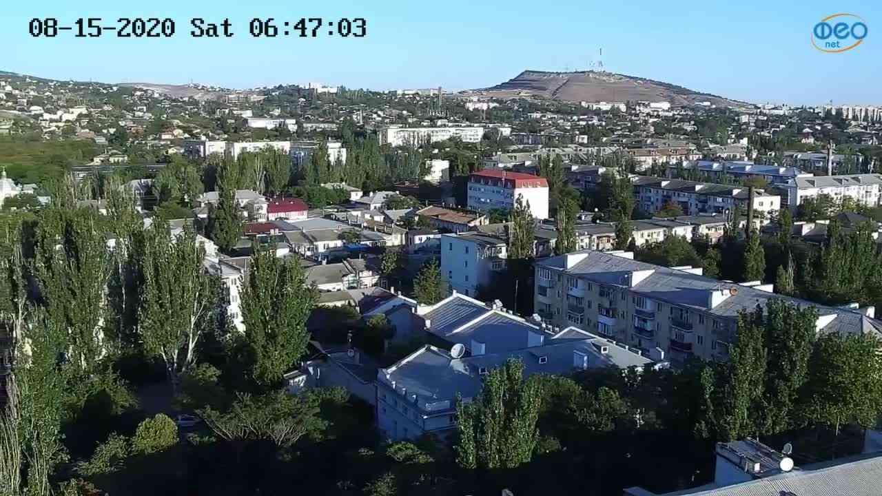 Веб-камеры Феодосии, Обзорная, 2020-08-15 06:47:16