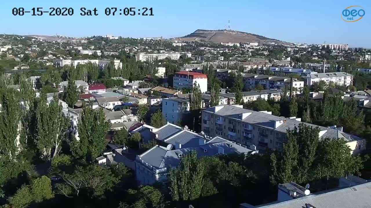 Веб-камеры Феодосии, Обзорная, 2020-08-15 07:05:32