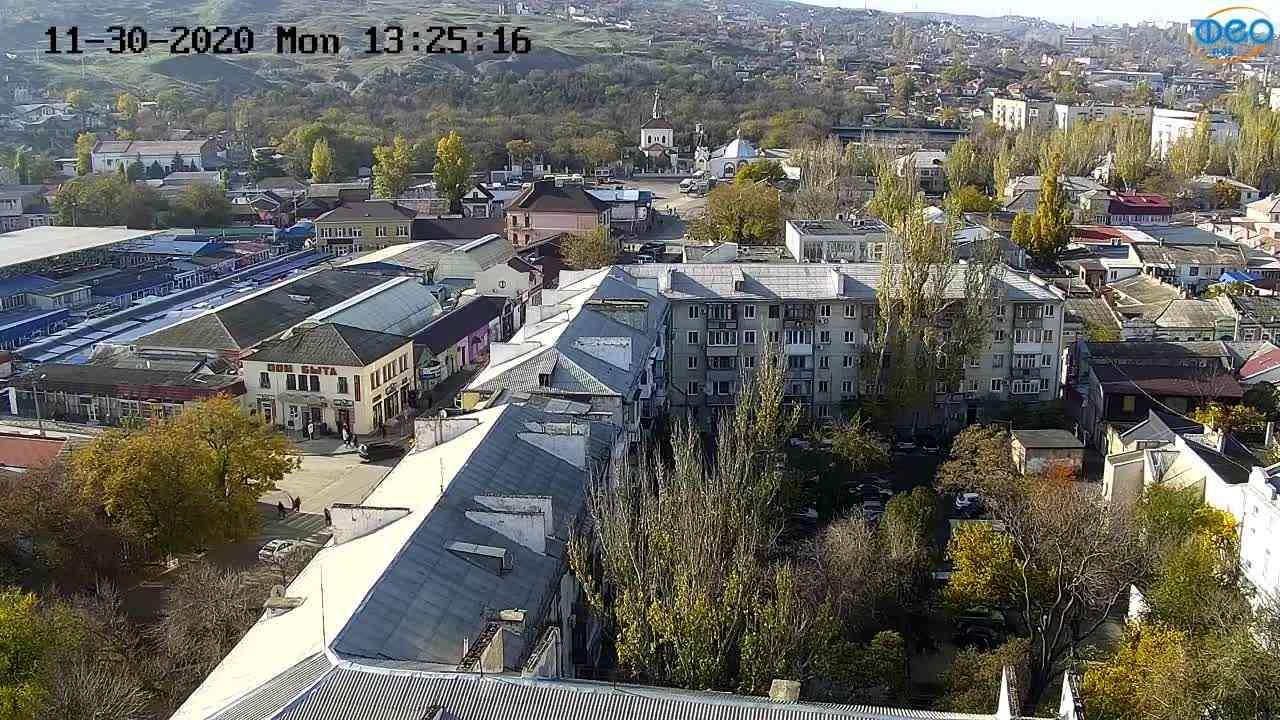 Веб-камеры Феодосии, Обзорная, 2020-11-30 13:25:22