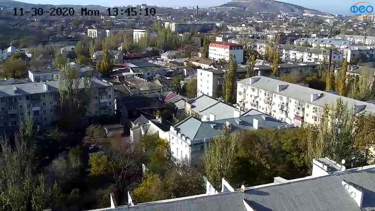 Веб-камеры Феодосии, Обзорная, 2020-11-30 13:45:22