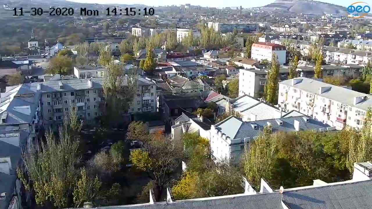 Веб-камеры Феодосии, Обзорная, 2020-11-30 14:15:18