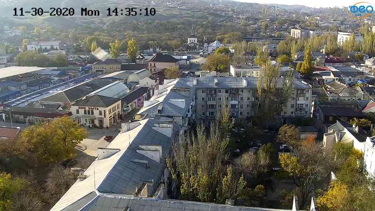 Веб-камеры Феодосии, Обзорная, 2020-11-30 14:35:18