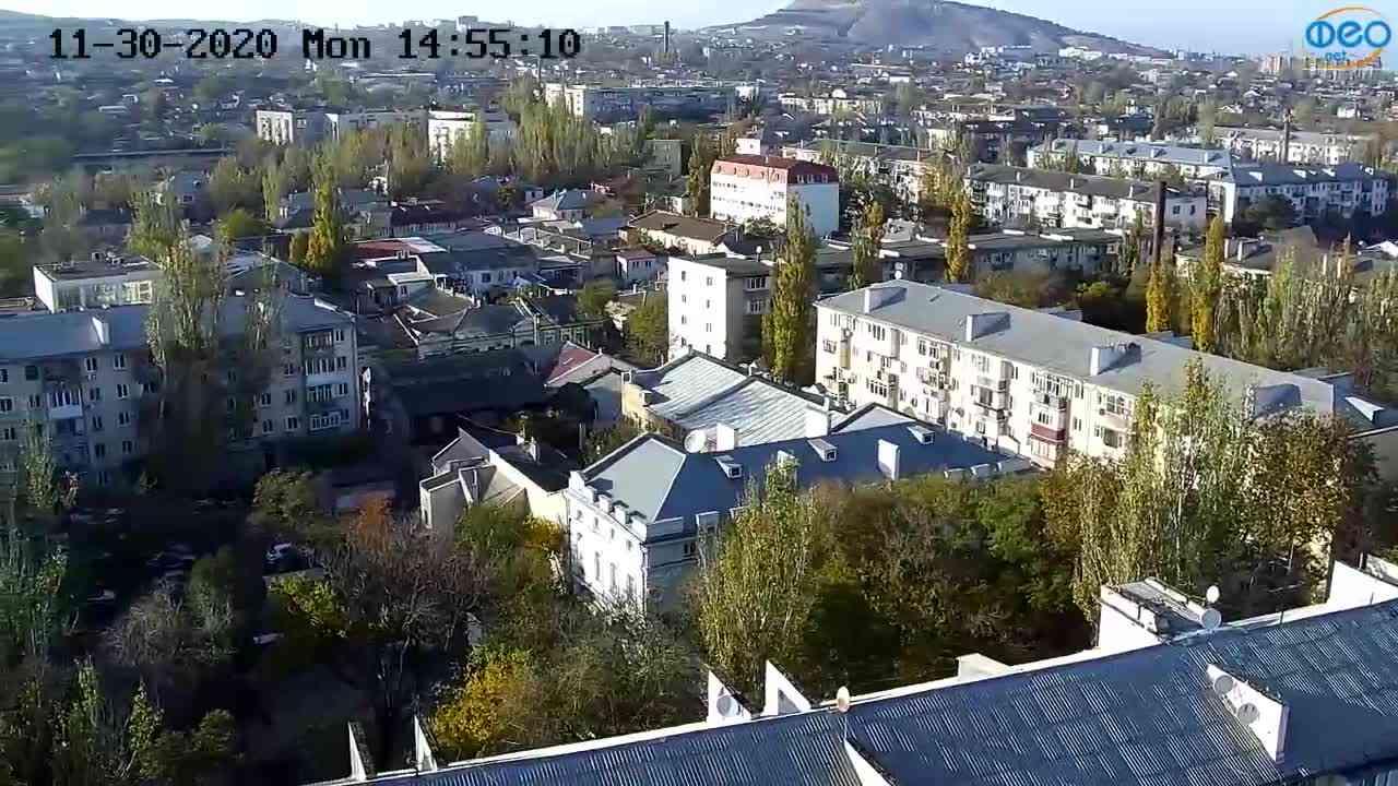 Веб-камеры Феодосии, Обзорная, 2020-11-30 14:55:17