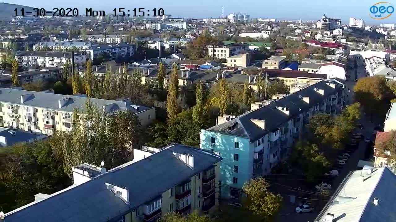 Веб-камеры Феодосии, Обзорная, 2020-11-30 15:15:18