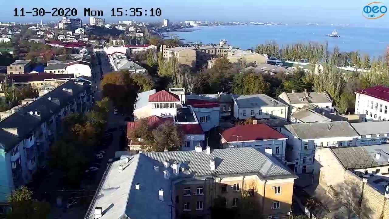 Веб-камеры Феодосии, Обзорная, 2020-11-30 15:35:17