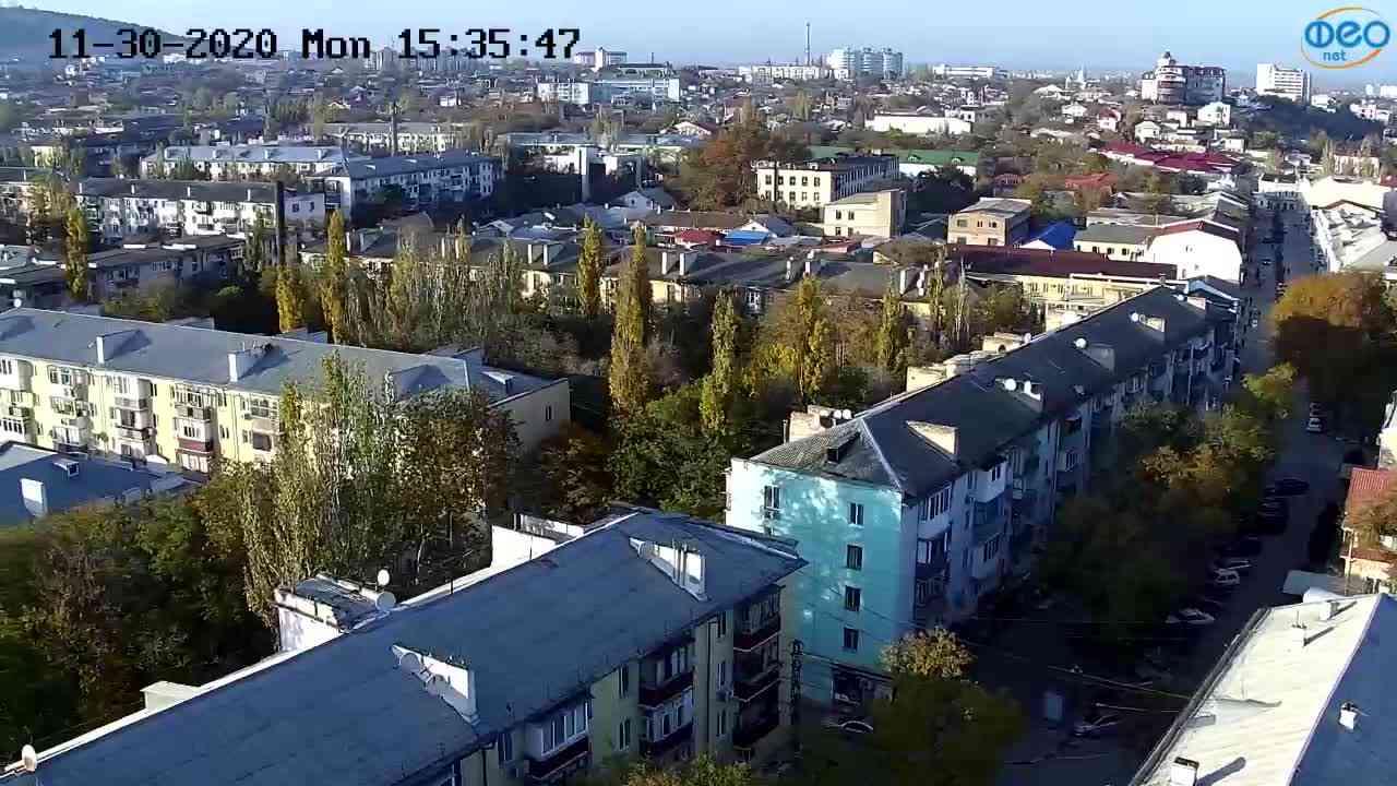 Веб-камеры Феодосии, Обзорная, 2020-11-30 15:36:02