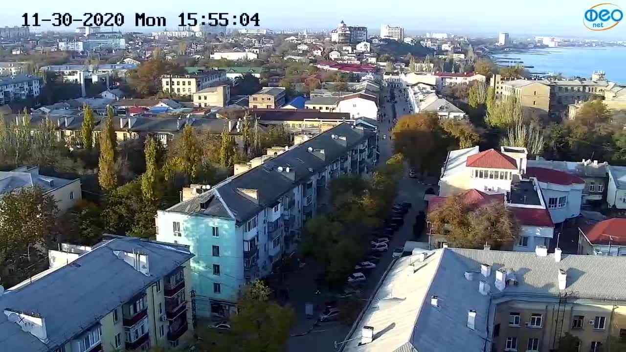 Веб-камеры Феодосии, Обзорная, 2020-11-30 15:55:13