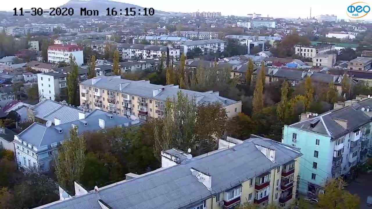 Веб-камеры Феодосии, Обзорная, 2020-11-30 16:15:17