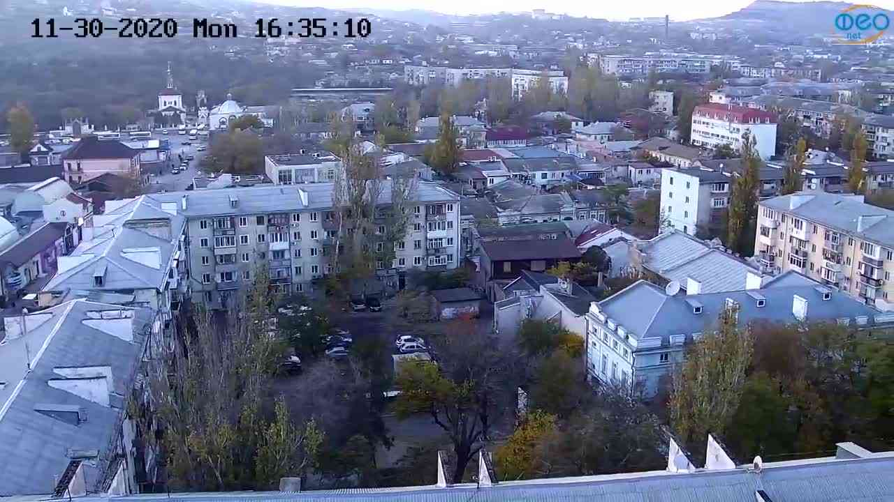 Веб-камеры Феодосии, Обзорная, 2020-11-30 16:35:17