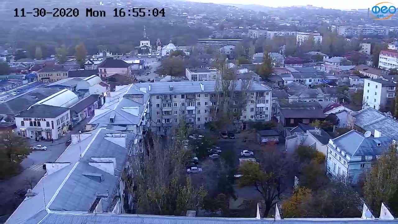 Веб-камеры Феодосии, Обзорная, 2020-11-30 16:55:17