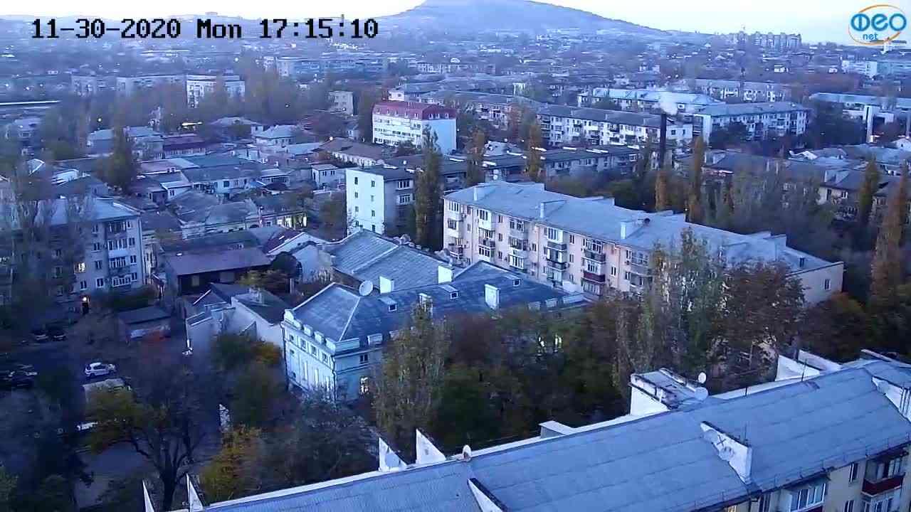 Веб-камеры Феодосии, Обзорная, 2020-11-30 17:15:17
