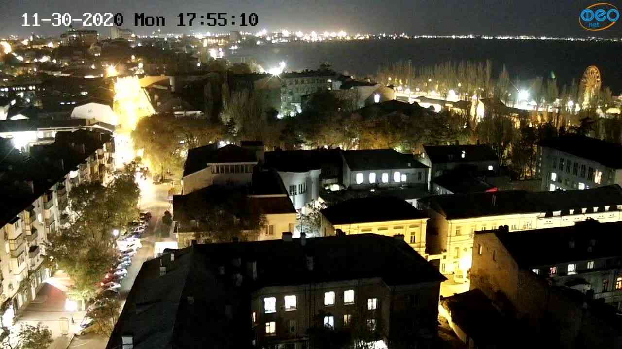 Веб-камеры Феодосии, Обзорная, 2020-11-30 17:55:17