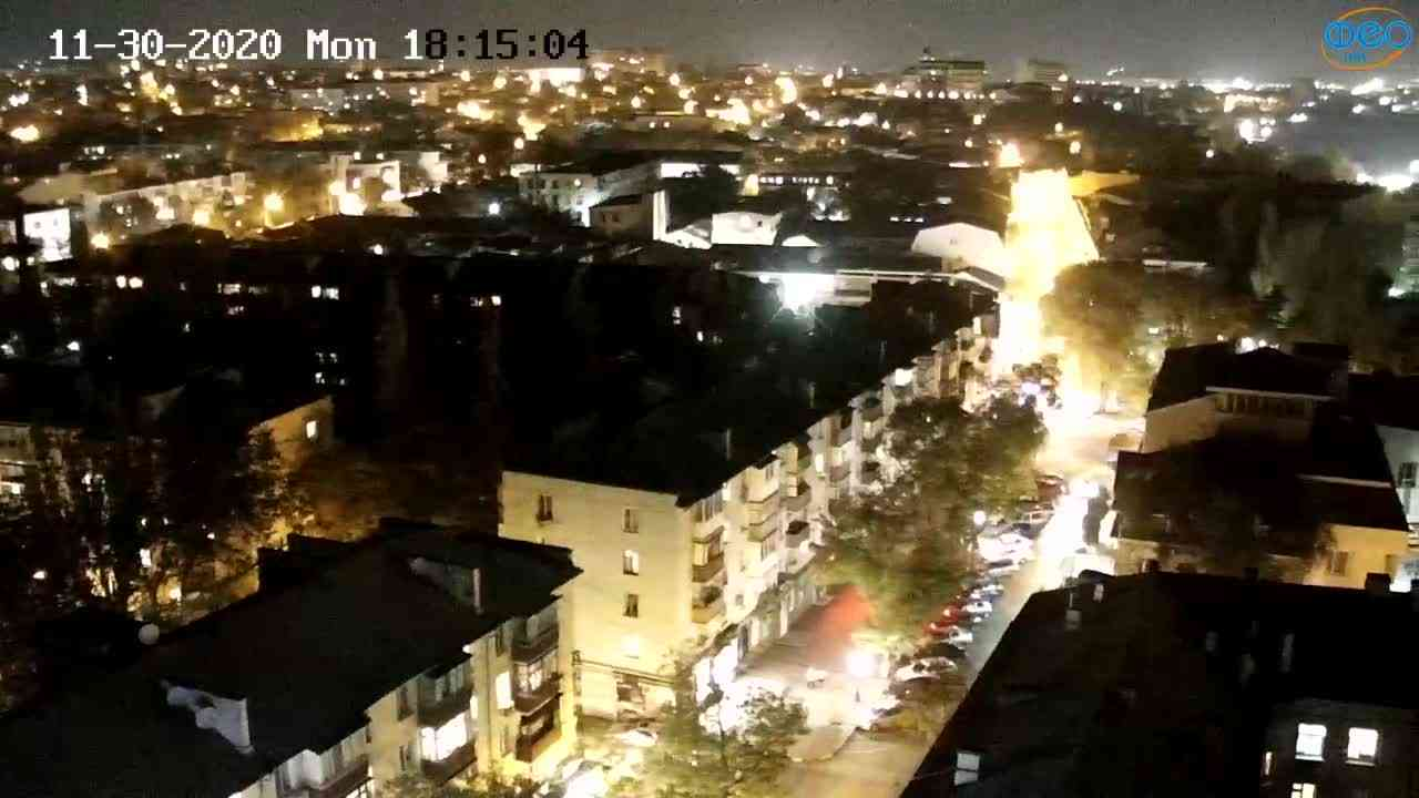 Веб-камеры Феодосии, Обзорная, 2020-11-30 18:15:16