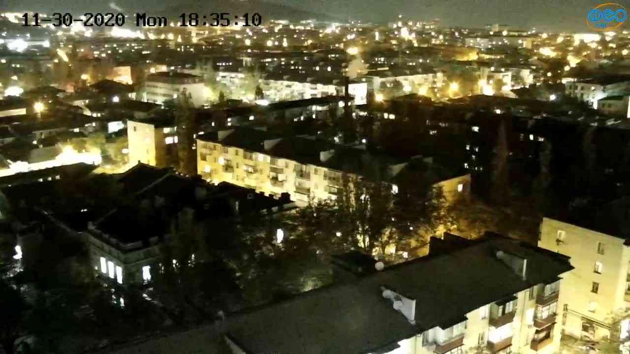 Веб-камеры Феодосии, Обзорная, 2020-11-30 18:35:18