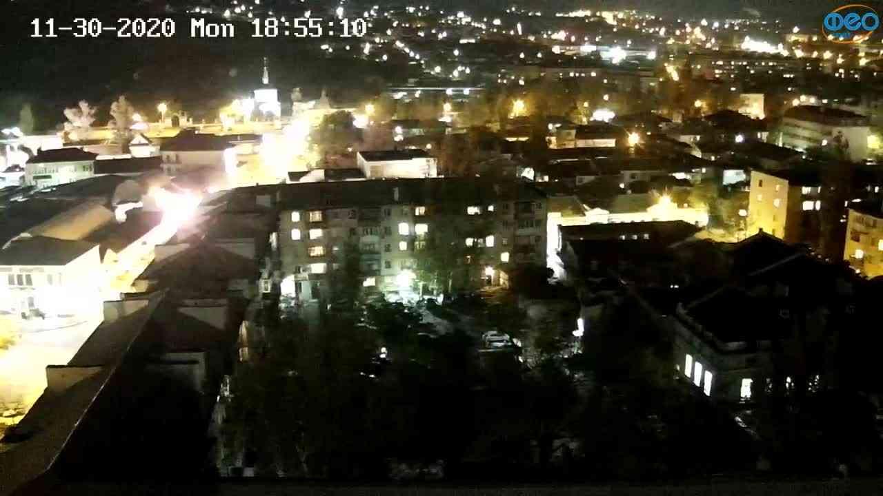 Веб-камеры Феодосии, Обзорная, 2020-11-30 18:55:17