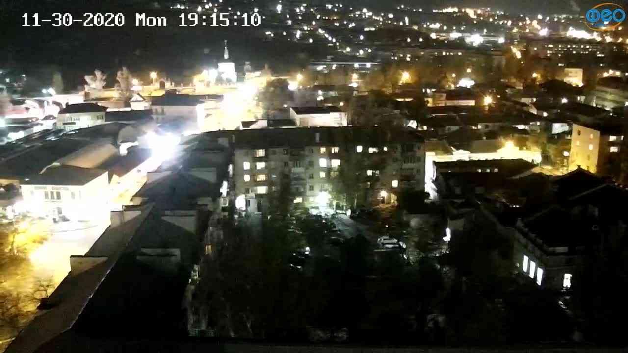 Веб-камеры Феодосии, Обзорная, 2020-11-30 19:15:18