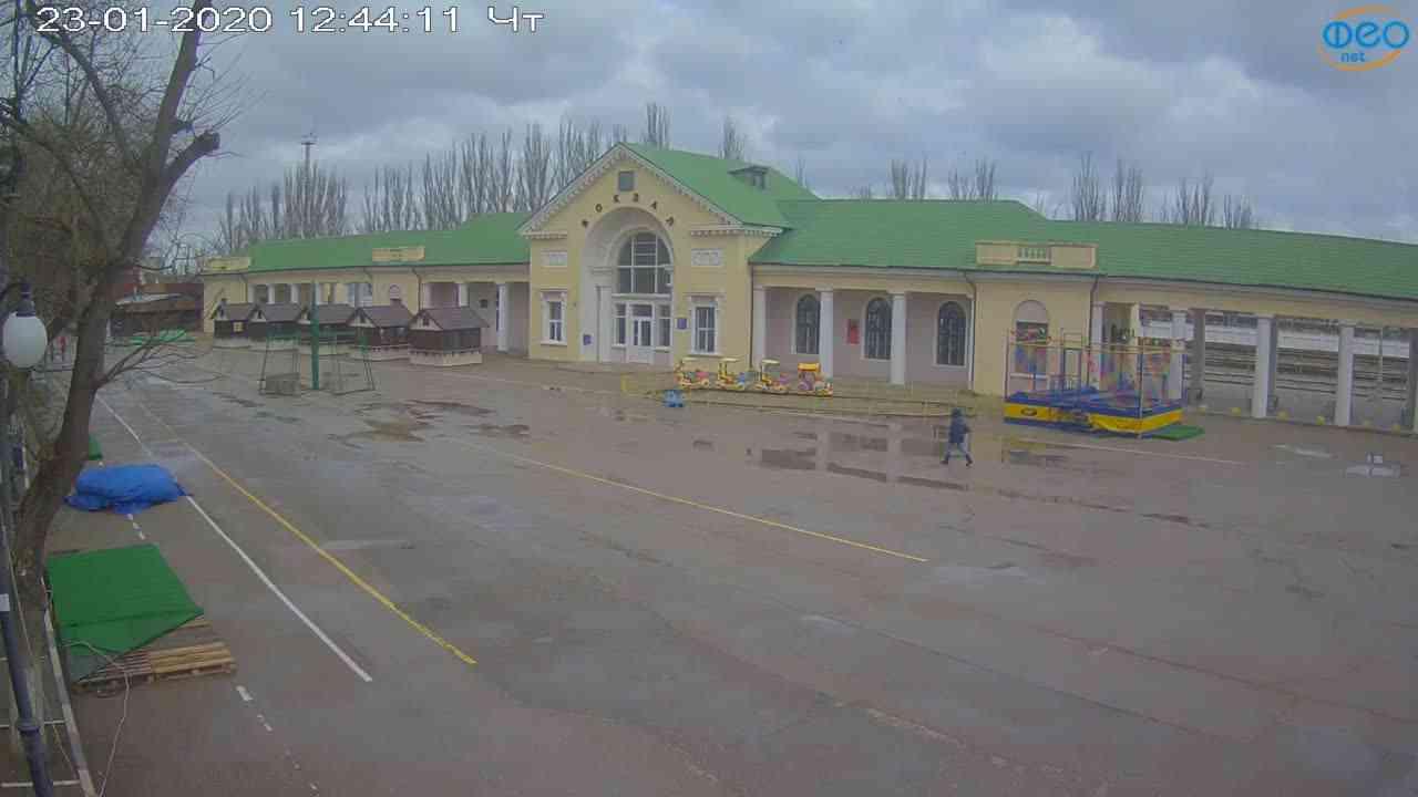 Веб-камеры Феодосии, Привокзальная площадь, 2020-01-23 12:45:10