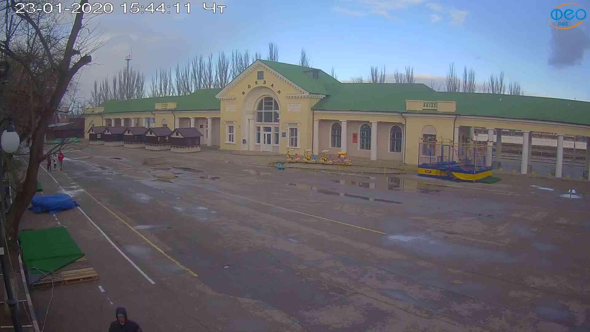 Веб-камеры Феодосии, Привокзальная площадь, 2020-01-23 15:45:12