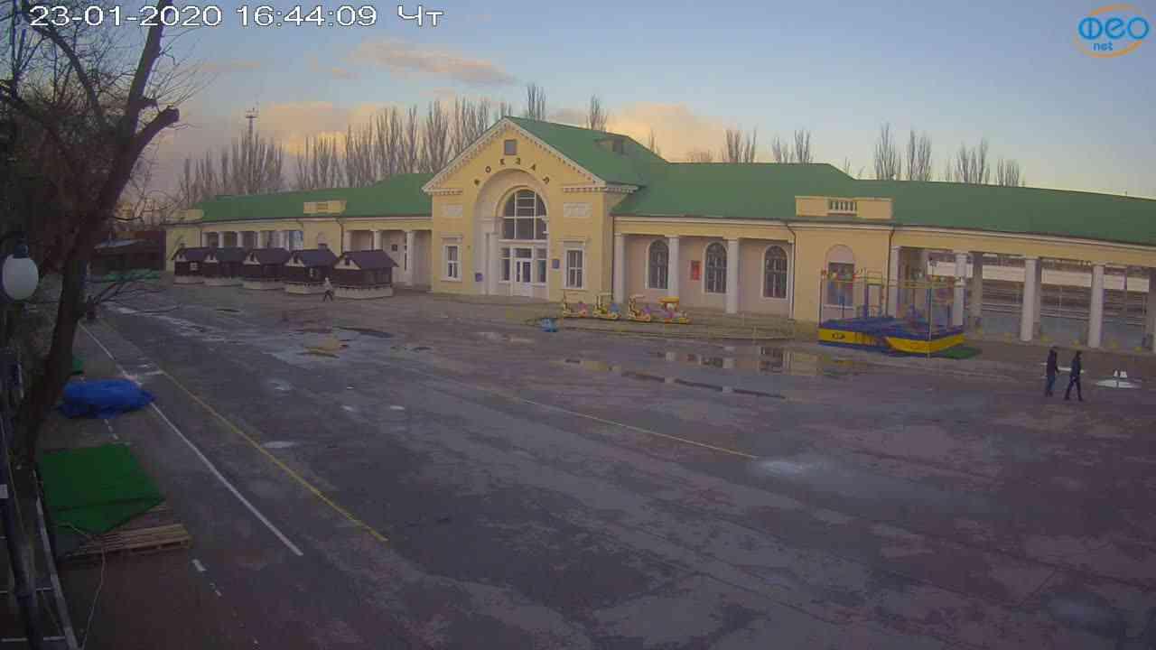 Веб-камеры Феодосии, Привокзальная площадь, 2020-01-23 16:45:10