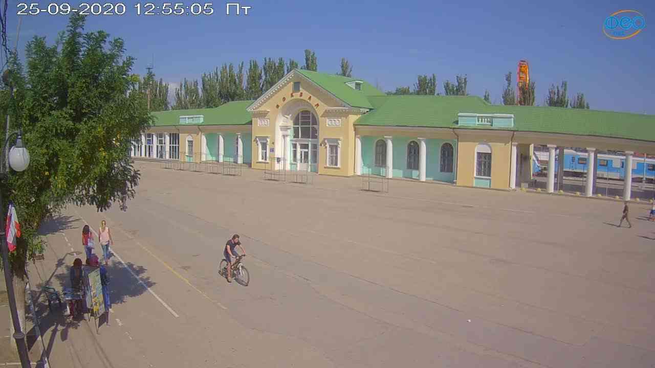 Веб-камеры Феодосии, Привокзальная площадь, 2020-09-25 12:55:18