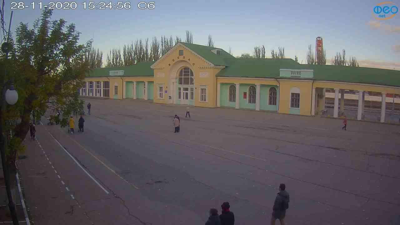 Веб-камеры Феодосии, Привокзальная площадь, 2020-11-28 15:25:05