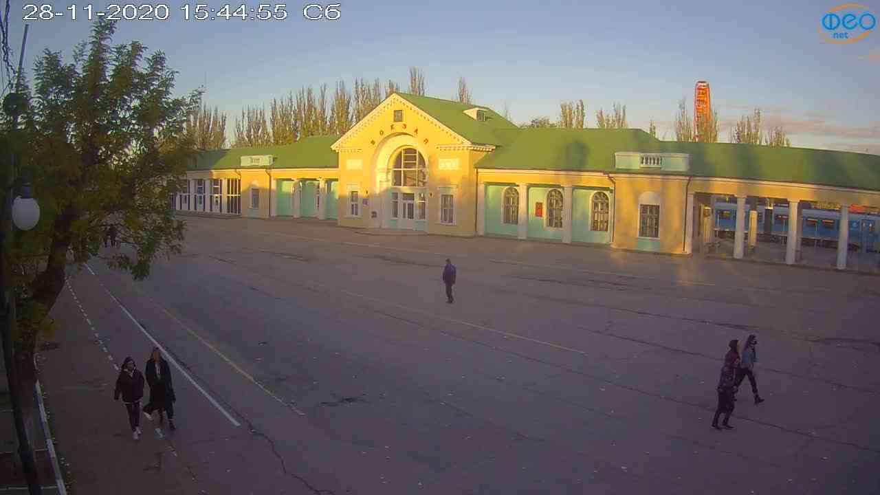 Веб-камеры Феодосии, Привокзальная площадь, 2020-11-28 15:45:06