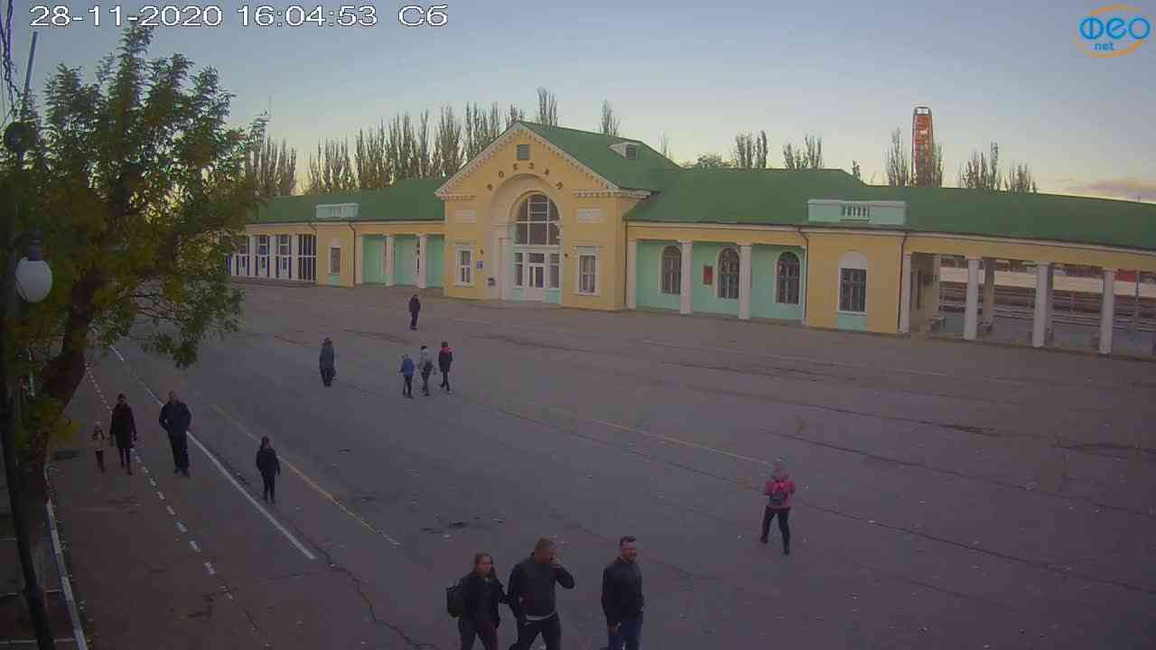 Веб-камеры Феодосии, Привокзальная площадь, 2020-11-28 16:05:06