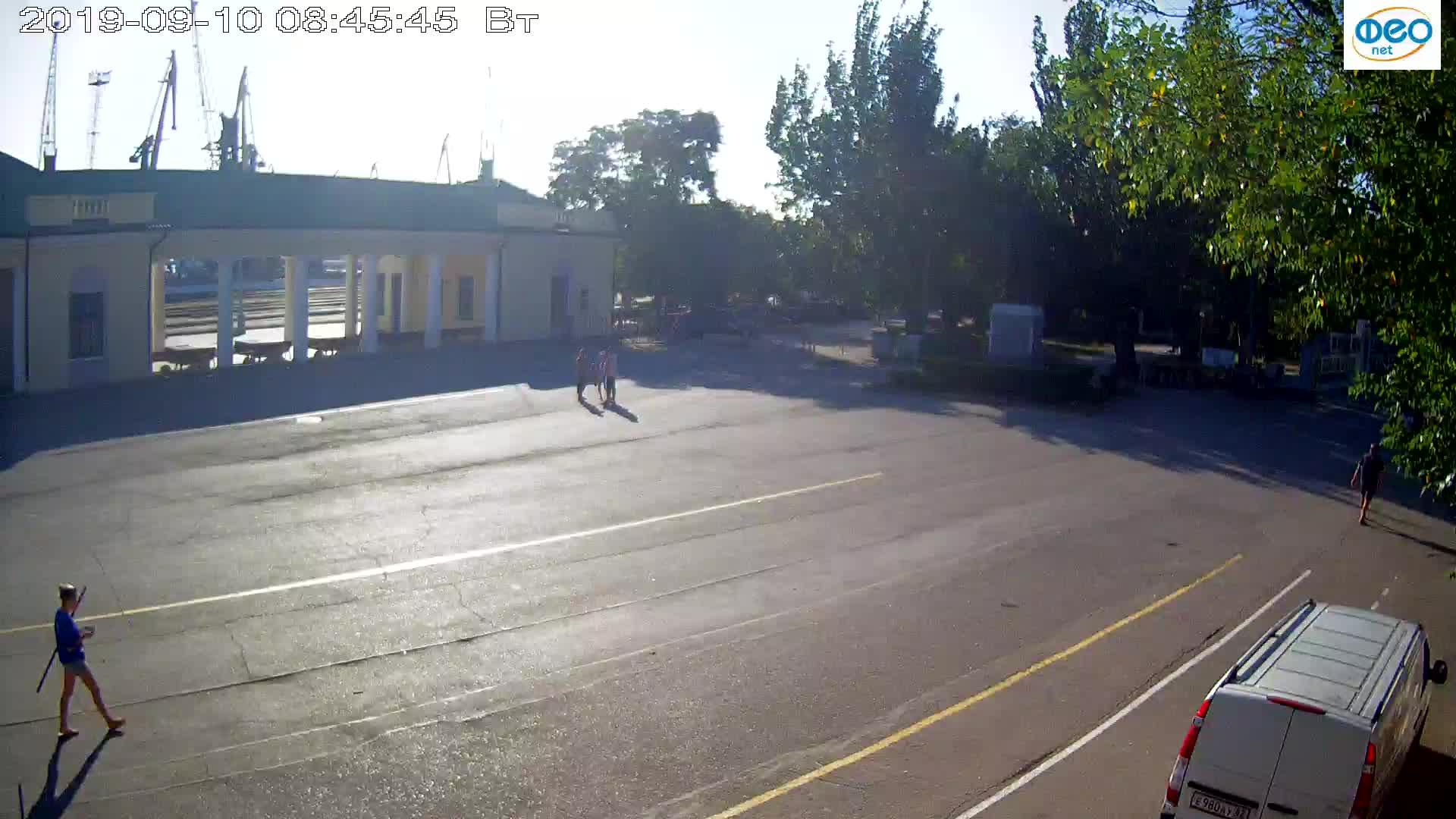 Веб-камеры Феодосии, Привокзальная площадь 2, 2019-09-10 08:33:09