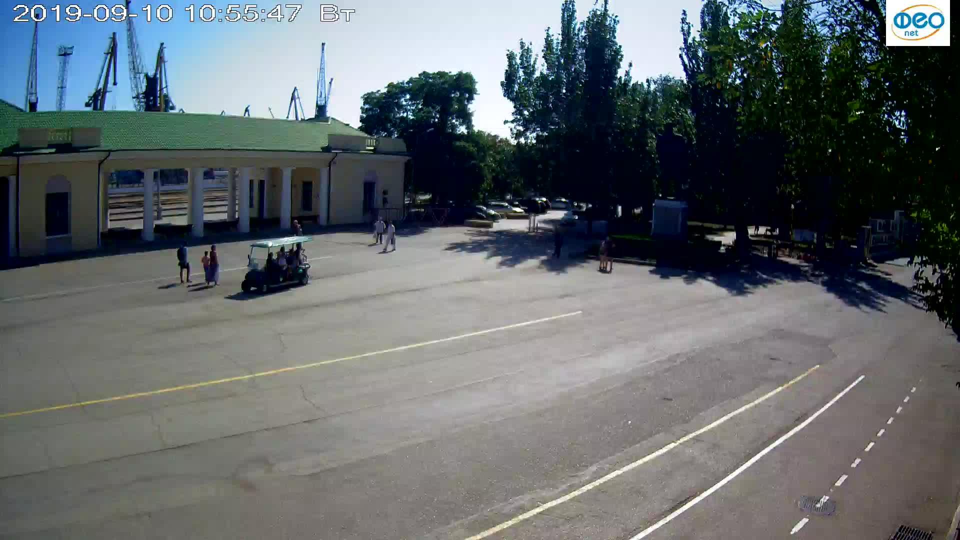 Веб-камеры Феодосии, Привокзальная площадь 2, 2019-09-10 10:43:13