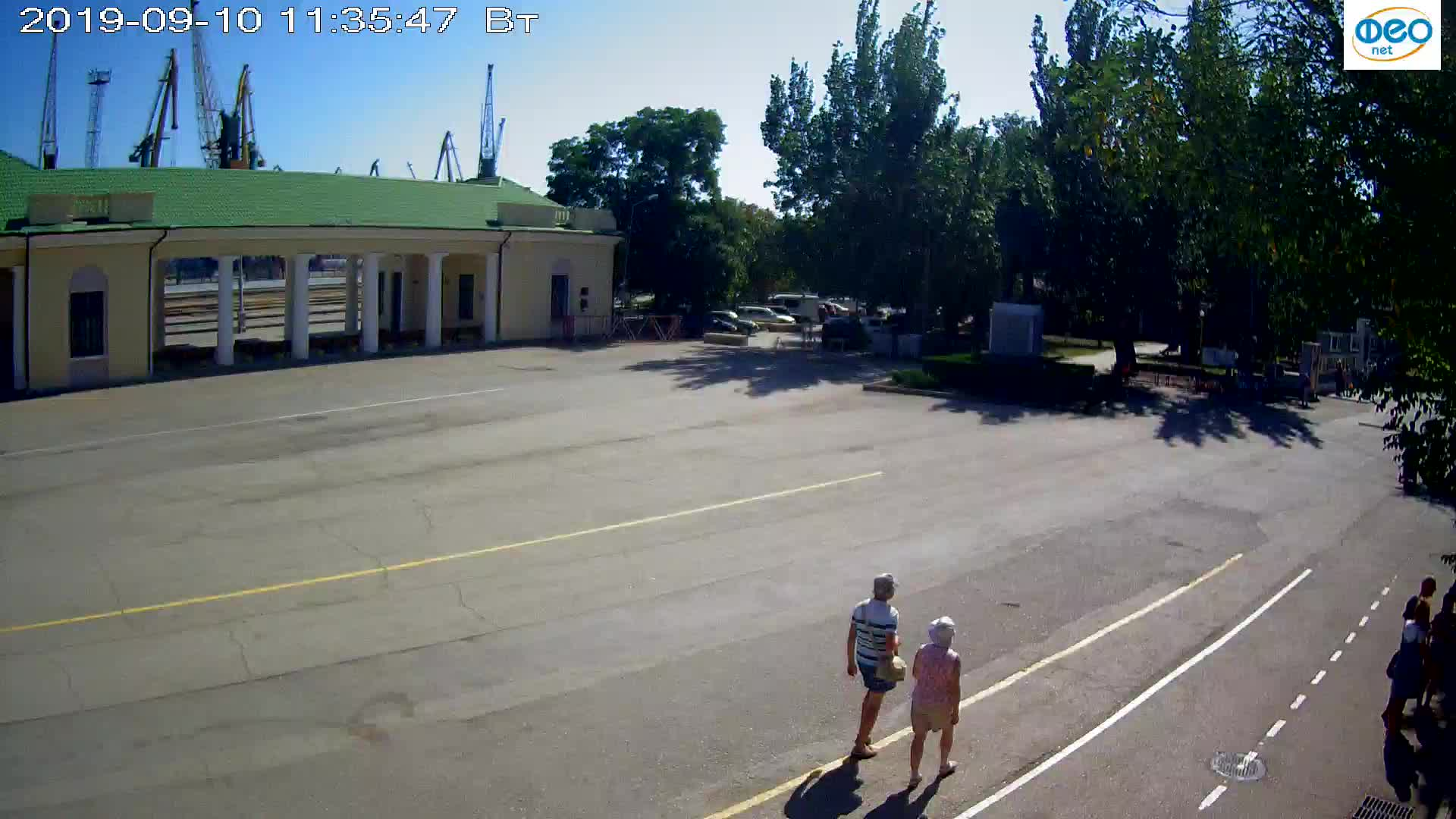 Веб-камеры Феодосии, Привокзальная площадь 2, 2019-09-10 11:23:11