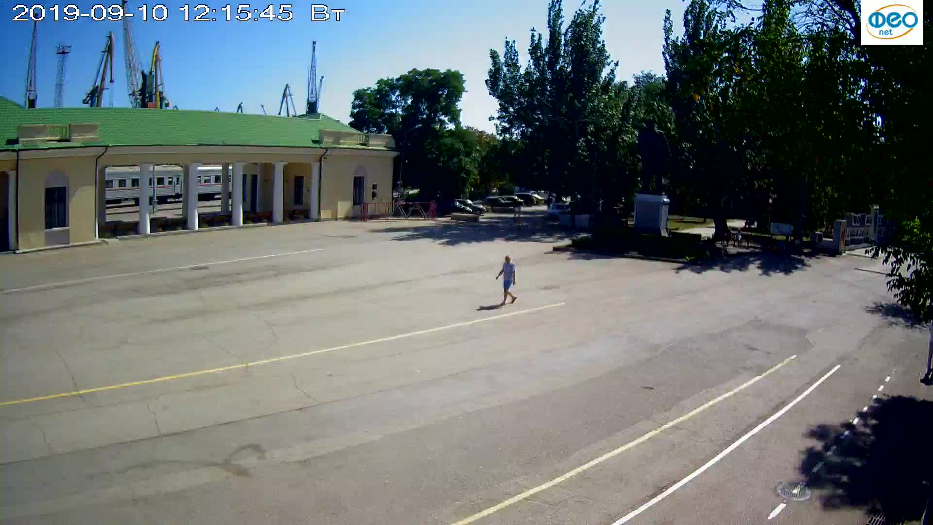 Веб-камеры Феодосии, Привокзальная площадь 2, 2019-09-10 12:03:10