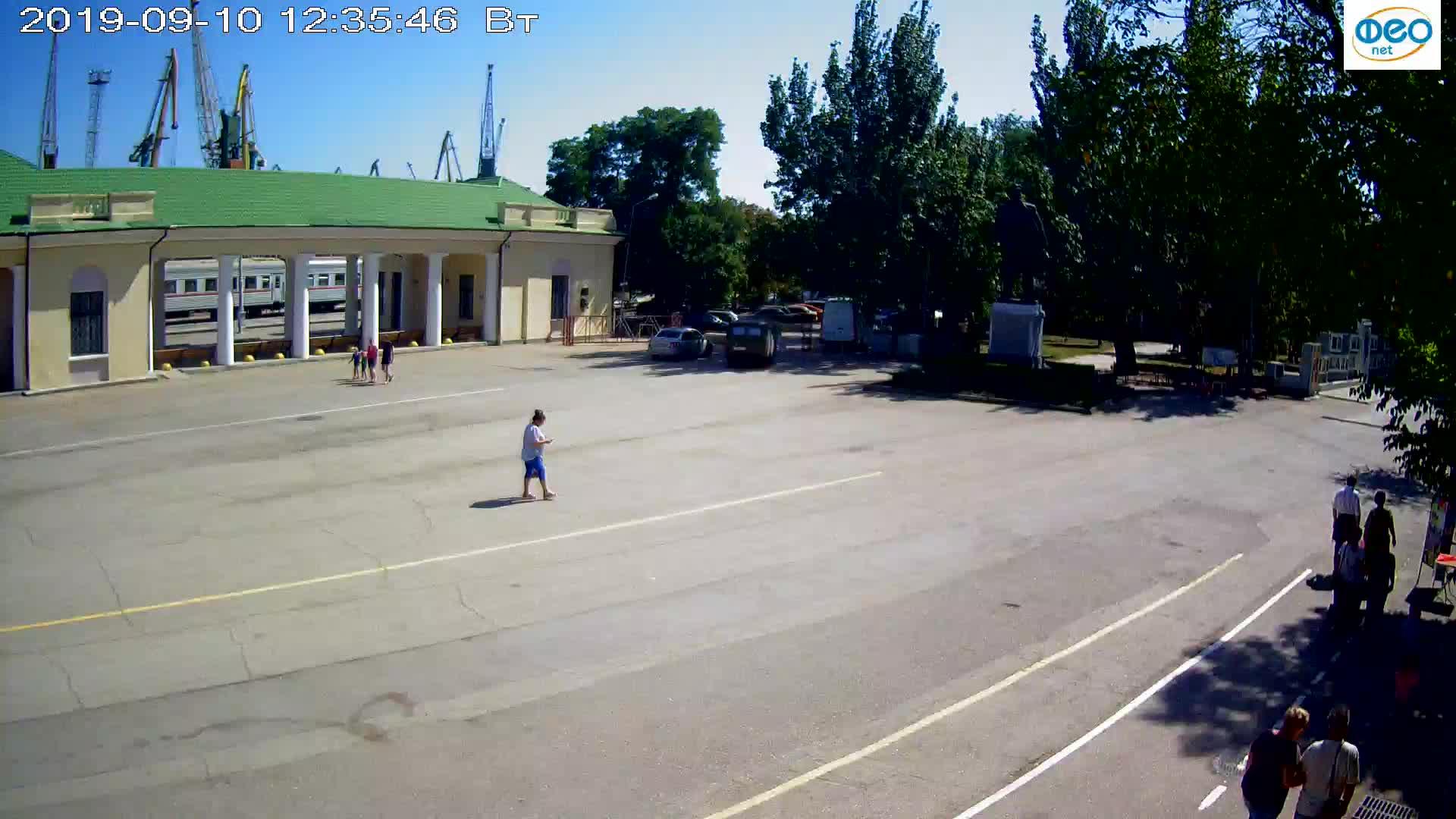 Веб-камеры Феодосии, Привокзальная площадь 2, 2019-09-10 12:23:09